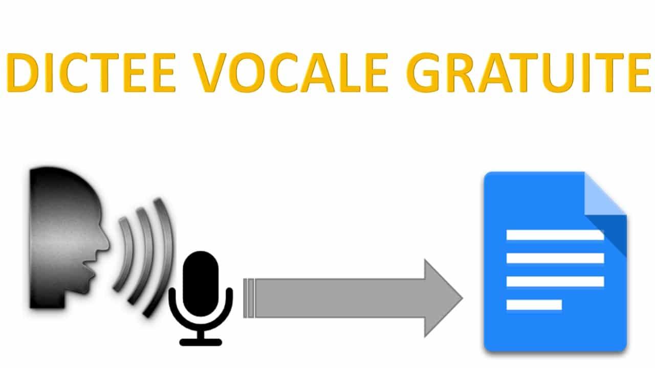 DICTEE VOCALE GRATUITE