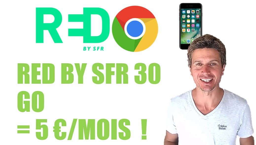 Forfait mobile internet red by sfr 30 go 5 e
