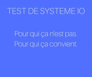 Test et avis de systeme io d'Aurélien Amacker