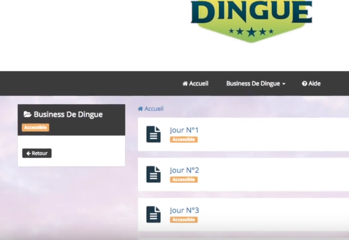 Avis business de dingue